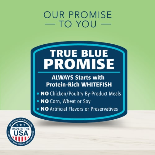 Blue Buffalo True Solutions Perfect Coat Natural Wet Dog Food Perspective: back