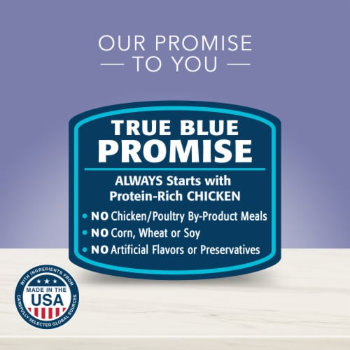 Blue Buffalo True Solutions Jolly Joints Mobility Support Formula Dog Food Perspective: back