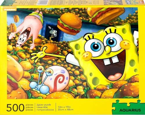 SpongeBob SquarePants 500 Piece Jigsaw Puzzle Perspective: back