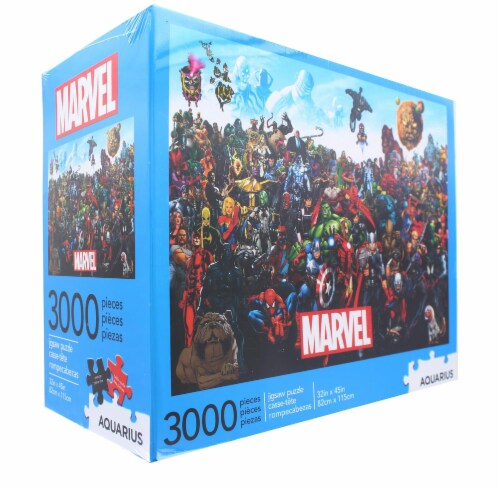 Marvel Cast 3000 Piece Jigsaw Puzzle Perspective: back