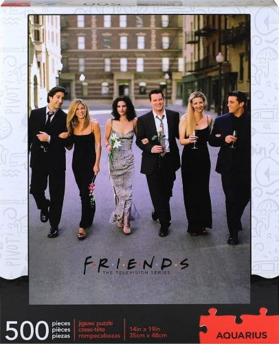 Friends Wedding 500 Piece Jigsaw Puzzle Perspective: back