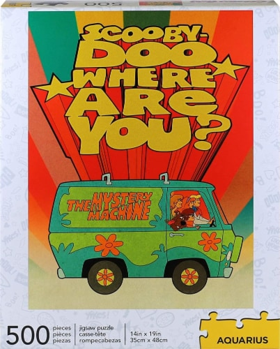 Scooby-Doo Where Are You? 500 Piece Jigsaw Puzzle Perspective: back