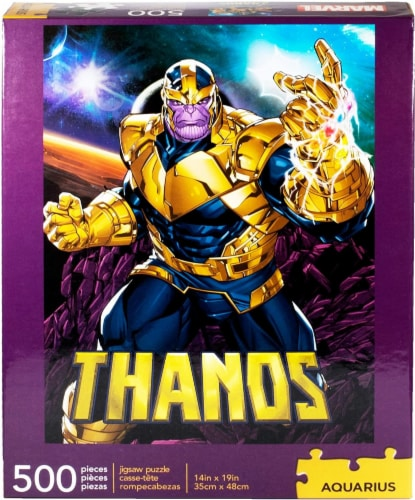 Marvel Thanos 500 Piece Jigsaw Puzzle Perspective: back