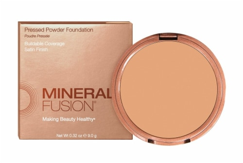 Mineral Fusion Deep 1 Pressed Powder Foundation Perspective: back