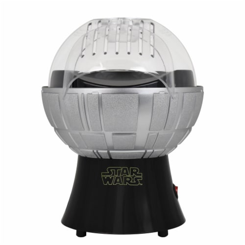 Star Wars Death Star Hot Air Style Popcorn Maker with Removable Bowl Perspective: back