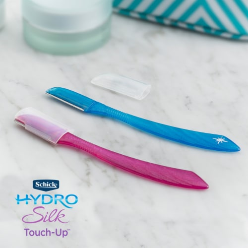 Schick Hydro Silk Touch Up Razor Perspective: back