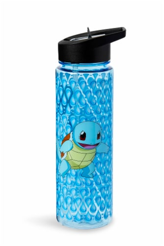 Pokemon Squirtle 16oz Water Bottle - BPA-Free Reusable Drinking Bottles Perspective: back