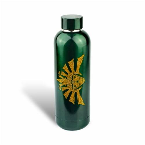 Legend of Zelda Hyrule Stainless Steel Water Bottle Perspective: back