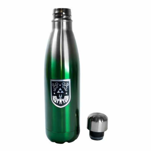 Legend of Zelda 17oz Steel Water Bottle Perspective: back