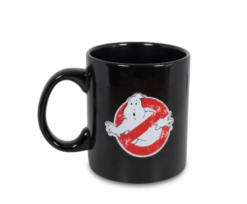 Ghostbusters Logo Ectoplasm Heat-Changing Ceramic Coffee Mug   Holds 20 Ounces Perspective: back