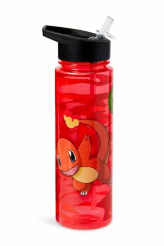 Pokemon Charmander 16oz Water Bottle - BPA-Free Reusable Drinking Bottles Perspective: back