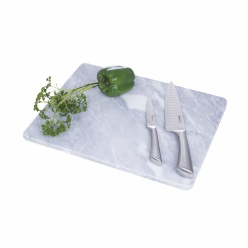 HealthSmart Marble Cutting/Pastry Board for Chefs or Bakers Perspective: back