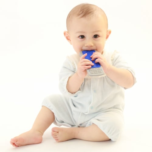 Toys by People® Brain Builders™ - Baby's First Remote Teether Perspective: back