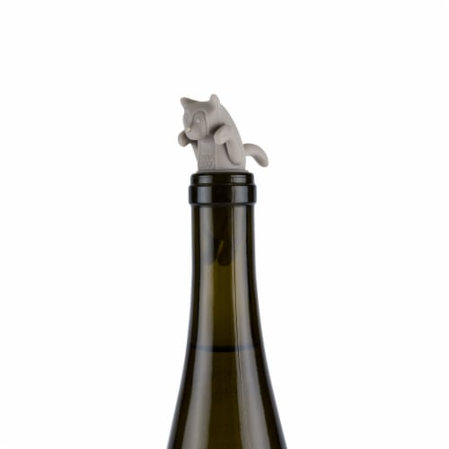 Cat Bottle Stopper by TrueZoo Perspective: back