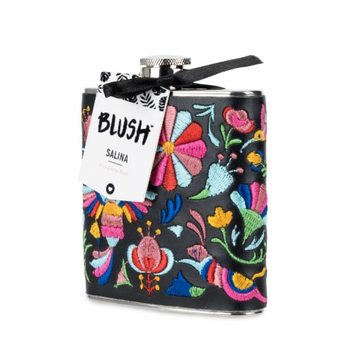 Embroidered Flask by Blush® Perspective: back