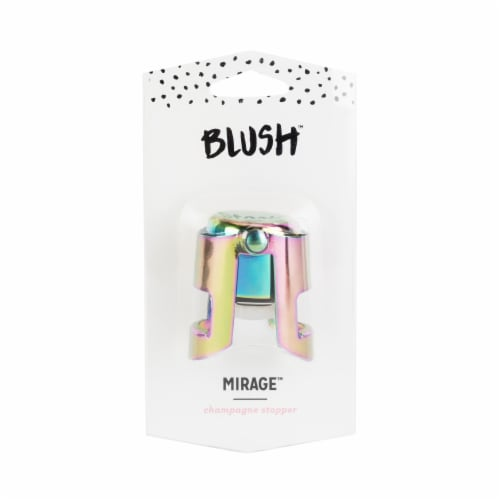 Mirage: Rainbow Champagne Stopper by Blush® Perspective: back