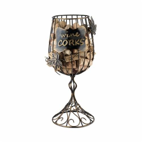 Wine Glass Cork Display Perspective: back