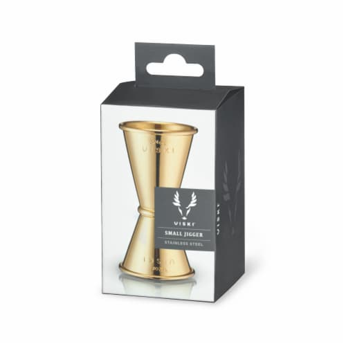 Small Gold Jigger by Viski® Perspective: back
