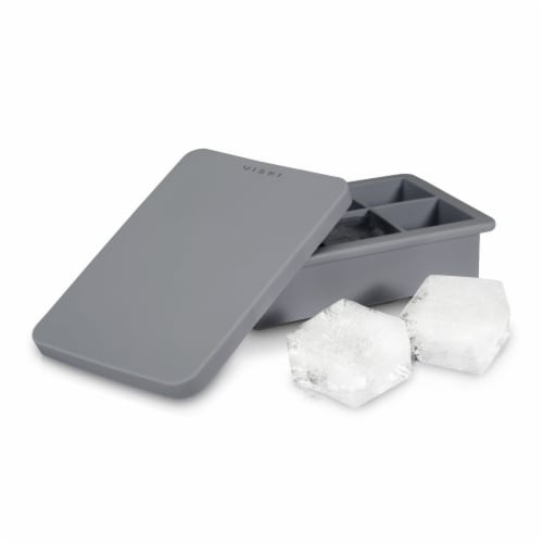 Viski 9576 Highball Ice Cube Tray with Lid Perspective: back
