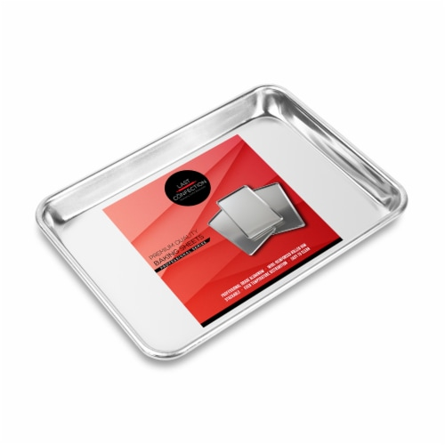 (Set of 6) Aluminum 9  x 13  Cookie Baking Sheets - Last Confection Perspective: back