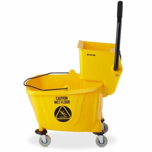 Dryser Commercial Mop Bucket Perspective: back