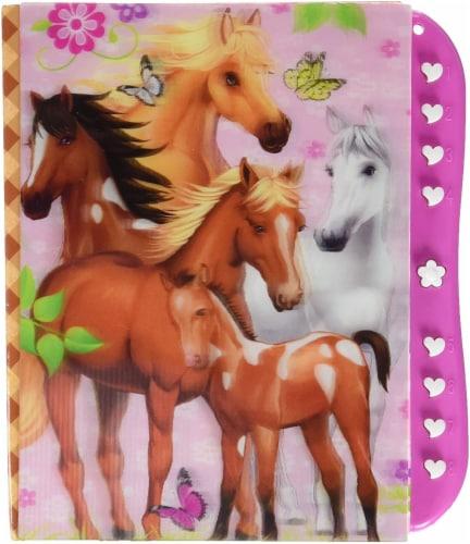 Hot Focus Enchanted Horse Secret Message Set Perspective: back