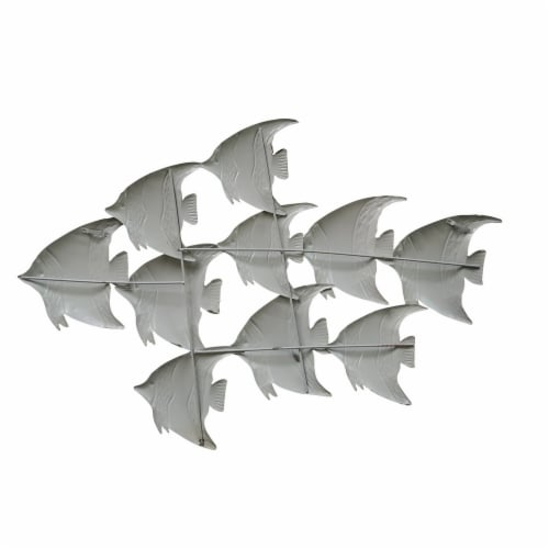 Three Dimensional Hanging Fish Wall Decor Perspective: back