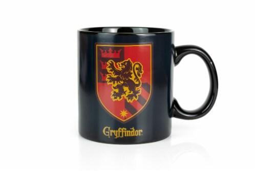 Harry Potter Gryffindor 20oz Heat Reveal Ceramic Coffee Mug   Color Changing Cup Perspective: back