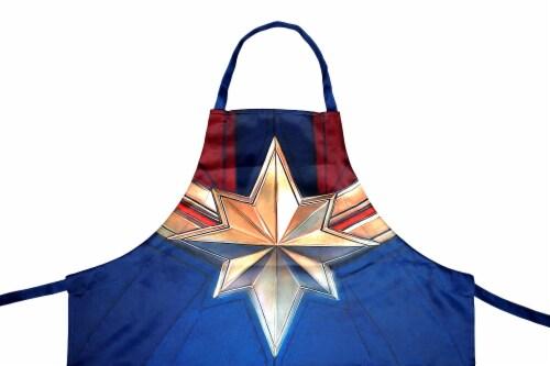 Marvel Captain Marvel Uniform Adult Apron | One Size Perspective: back