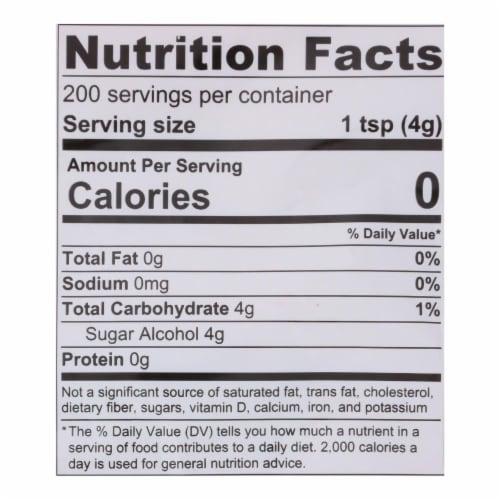 Lakanto Classic Monkfruit Sweetener - 1:1 White Sugar Substitute (1.76 lbs) Perspective: back