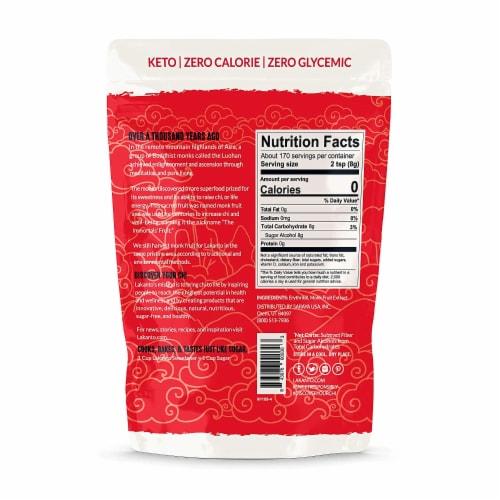 Lakanto Classic Monkfruit Sweetener - 1:1 White Sugar Substitute (3 lb) Perspective: back