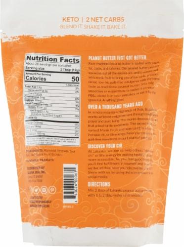 Lakanto Peanut Butter Powder Perspective: back