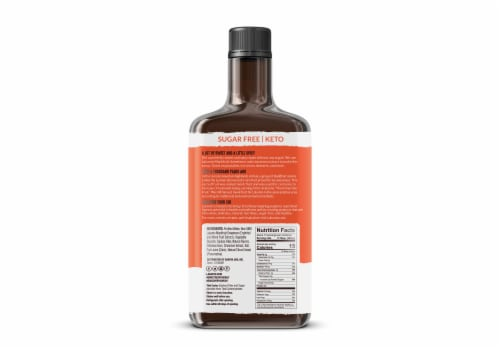 Lakanto Sugar Free Cinnamon Maple Syrup - Sweetened with Monk Fruit (13 fl oz) Perspective: back