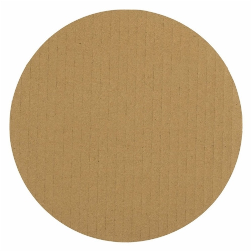 12-Pack Round Cake Boards, Cardboard Cake Circle Bases, 6 Inches Diameter, White Perspective: back