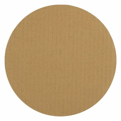 "12-Pack Round Cake Boards Cardboard White Cake Circle Base, 8"" Diameter Perspective: back"