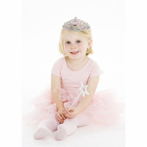12-Pack Tiara Crown Rhinestone for Little Girl Princess Dress Up Party, 4 Colors Perspective: back