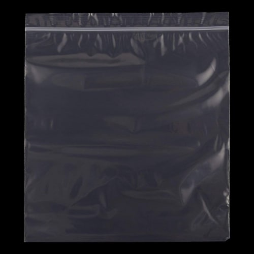 Resealable Plastic Bags, Clear Storage Bag (11.9 x 10.6 In, 500 Pack) Perspective: back