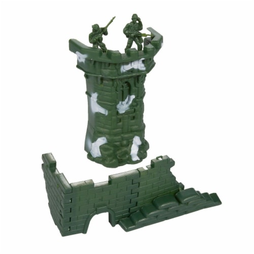 300 Pieces Military Army Men Toys Set For Boys - Including 8pc SWAT Team Action Figures Perspective: back