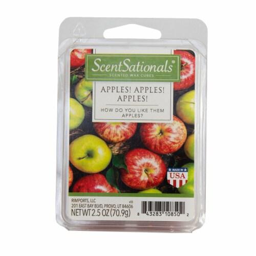 Scentsationals Apples, Apples, Apples 2.5 Oz Fragrant Wax Melts Perspective: back