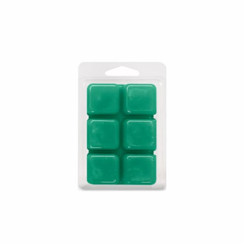 Oak & Rye® Jade Scented Wax Cubes - Green Perspective: back