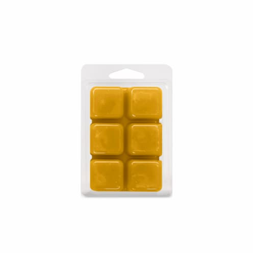 Oak & Rye Salted Caramel Scented Wax Cubes Perspective: back