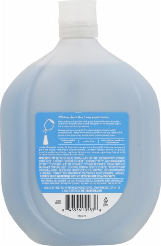 Method Sea Minerals Foaming Hand Wash Refill Perspective: back