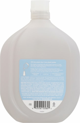 Method Sweet Water Foaming Hand Wash Refill Perspective: back