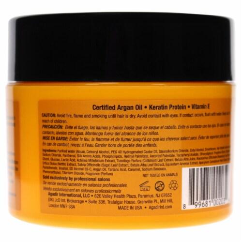 Agadir Argan Oil Moisture Masque 8 oz Perspective: back