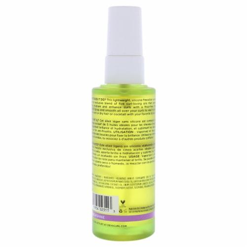 DevaCurl High Shine Multi Benefit Oil by DevaCurl for Unisex - 1.7 oz Oil Perspective: back