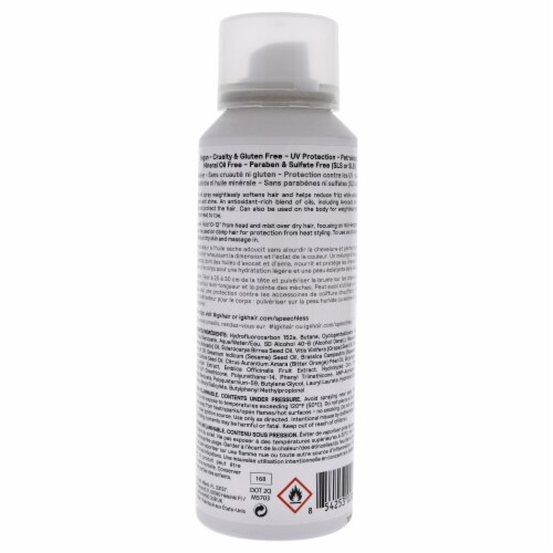 Speechless Hair And Body Dry Oil Finishing Spray by IGK for Unisex - 2.8 oz Oil Perspective: back