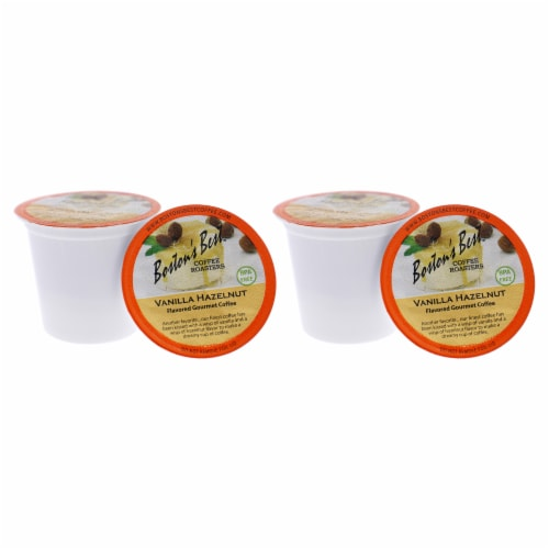 Vanilla Hazelnut Gourmet Coffee by Bostons Best for Unisex - 12 Cups Coffee - Pack of 2 Perspective: back
