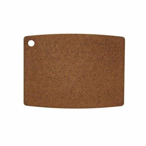 Epicurean Gourmet Series Cutting Board, Nutmeg & Natural - 14.5 x 11.25 x 0.37 i Perspective: back