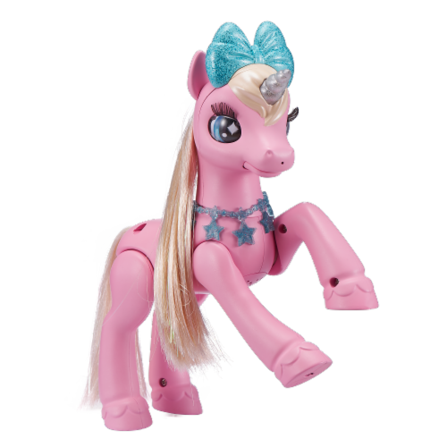 Zuru Pets Alive My Magical Unicorn & Stable Playset Perspective: back