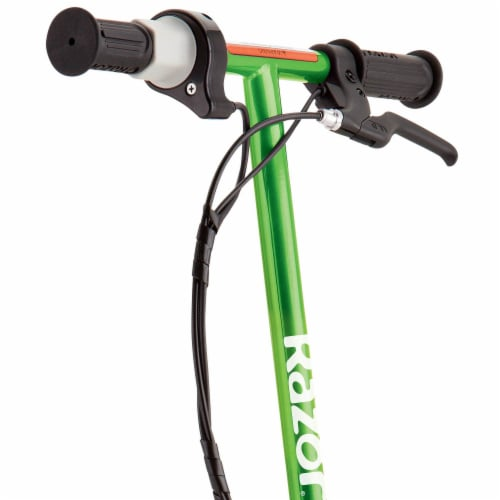 Razor E100 Kids Ride On 24V Motorized Powered Electric Scooter Toy, Green Perspective: back